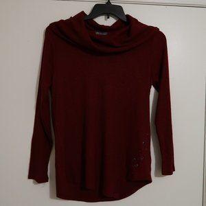 Port Wine Red Sweater Medium